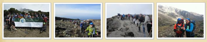 SUNY Oswego Climbing Kilimanjaro photo gallery