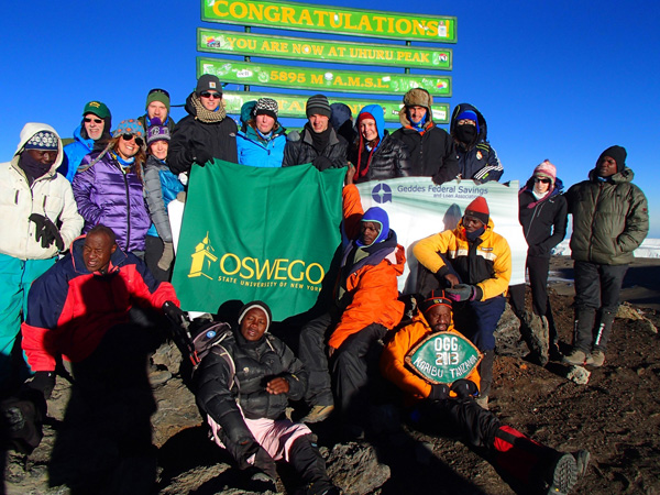TogetherWeGo Thank you for your Support from Kilimanjaro